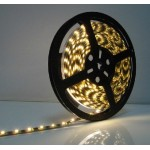 LED Strip SMD3528 - 60LEDs Yellow Non-waterproof 3.6W/m 4lm/led 120°