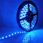 LED Strip SMD5050 - 60 LEDs Blue IP65 10W/m 12lm/led 120°