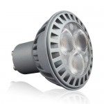 LED Spotlight - 5W GU10 White Plastic Warm White/4500K/White 38 ° 350 lm