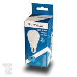 LED Bulb - 15W Е27 A60 Thermoplastic Warm White/white/4500k 200 ° 1500 lm