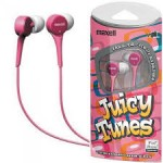 Maxell Juicy Tunes Pink