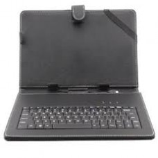 "Leather Keyboard for 7"" Tablet PC USB Black"