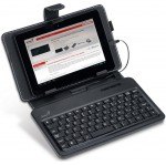 Genius Leather Keyboard LuxePad A120 Micro USB/Android Tablet/Smartphone 4.0