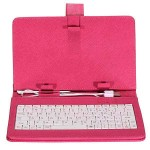 "TAB Leather keyboard for 7"" USB Pink"