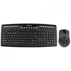 A4Tech 9200F Wireless Keyboard and mouse Padless
