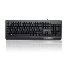 Keyboard PS/2 Delux DLK-6000P Black  US layout