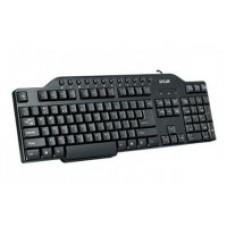 Keyboard PS/2 Delux DLK-9010P Standard/Black