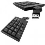 Keyboard USB Hantol Keypad Retractable/Black