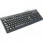 Keyboard PS/2 Gembird KB-8300M-BL Multimedia/Black
