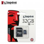 SD Micro 32GB Class4 Kingston +SD Adapter/SDC4/32GB