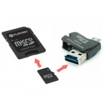 SD 8GB Platinet 4in1 SDHC/Card reader/OTG/micro USB
