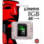 SD 8GB class10 Kingston SDHC SD10V/8GB