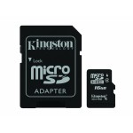SD Micro 16GB Class4 Kingston +SD Adater/SDC4/16GB